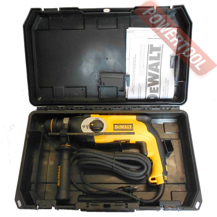 Перфоратор SDS-Plus DeWALT D 25123 K фото 2